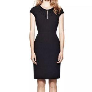 TORY BURCH GIA LITTLE BLACK DRESS-SZ 12-EXCELLENT